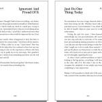Book interior design & layout