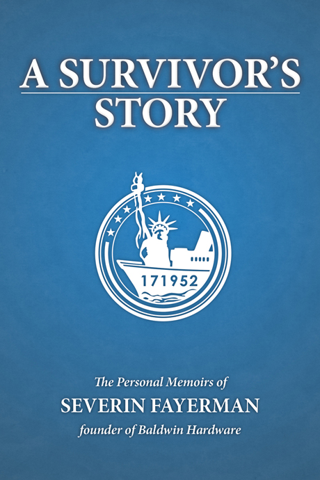 A Survivor's Story by Severin Fayerman book cover